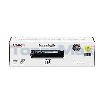 CANON COLOR IMAGECLASS MF8050CN TONER CTG YELLOW